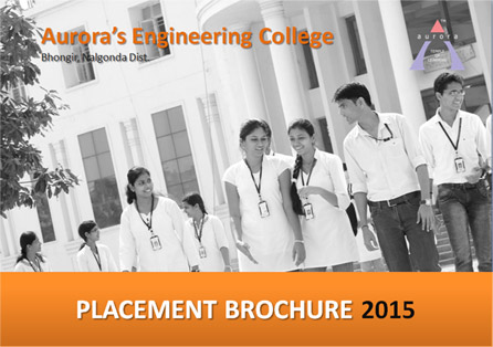 Aurora's Scientific and Technological Institute Placement Brochure 2015